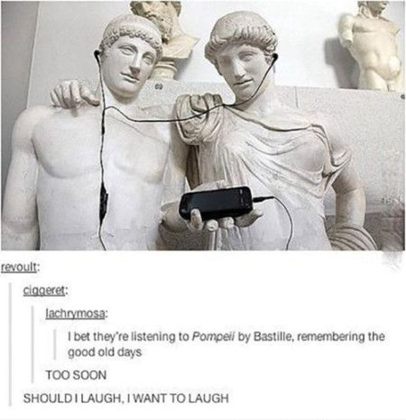 I would be a 火山 because fuck Pompeii.