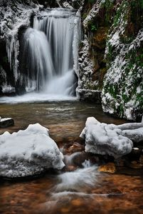 BE A WATER FALL COLD BUT BEAUTIFUL.