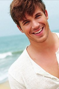 Matt Lanter with a sweet,gorgeous smile:)