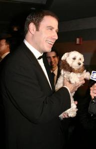 John with a dog <3333