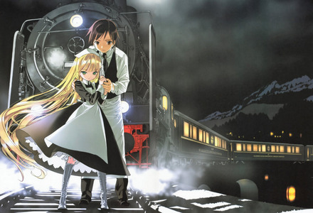 Gosick takes place in a make-believe European country some time between World War I and World War II I believe.