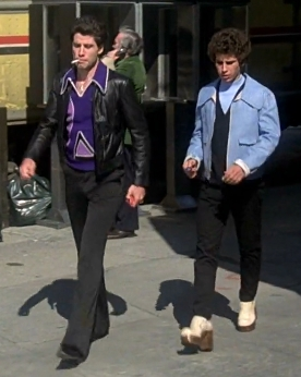 Both John and Barry wearing shoes :)