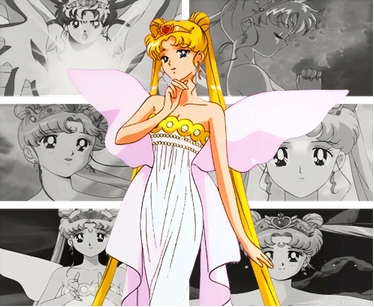 sailor moon who is later in the future Queen serenity and her mother is Neo-queen serenity