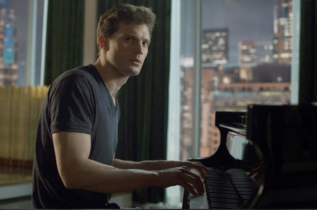 Jamie with a piano<3