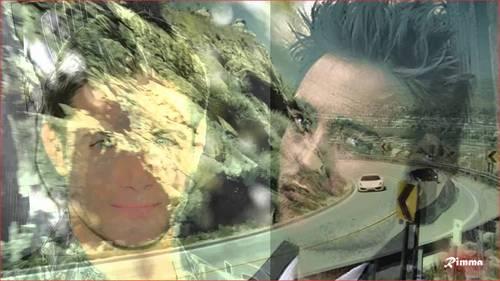 Sara's hotty,Jensen and my British hotty,Robert<3