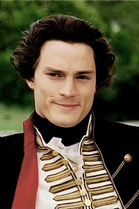 Jamie in an old period costume<3