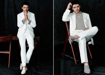 Richard in white<3