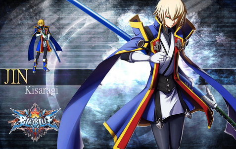 Since my name starts with J, so Jin Kisaragi from BlazBlue.
