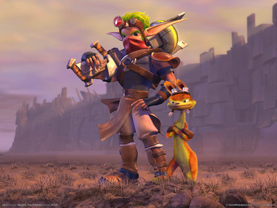 Jak from the Jak and Daxter games :)