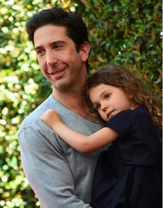 David Schwimmer and his daughter <33333