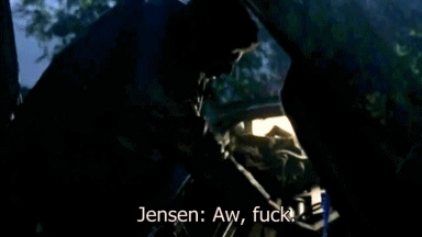 Y is it so hot when he swears? lol