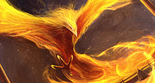 The Phoenix Because IMMORTALITY IS MINE !!!!