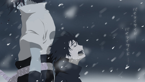 Sasuke from Naruto. His character means madami to me than a lot of people would ever know.