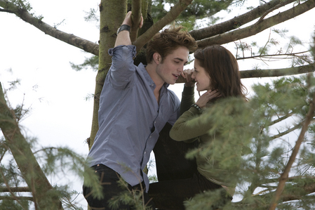Robert and Kristen in a boom from Twilight<3