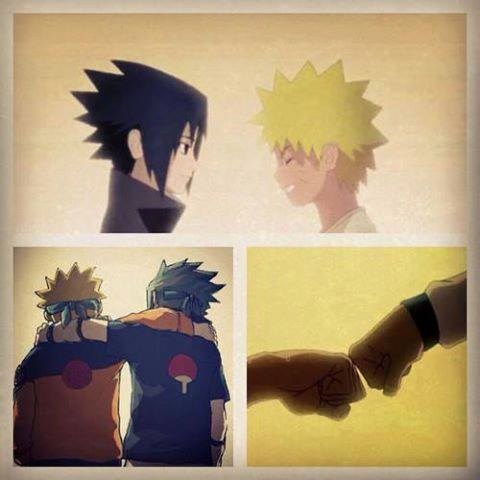 Naruto and Sasuke. The rivalry dynamic between them is amazing. These two are the only ones that understand each other completely.
