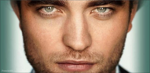 Rob's gorgeous eyes <333333