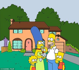 The Simpsons house.