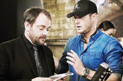 Director!Jensen with Mark Shepherd