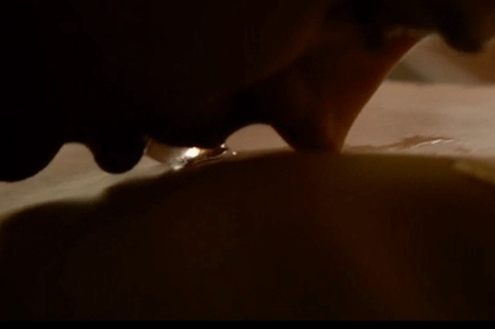 Christian Grey with an ice cube in his mouth as he trails it down my body...okay,not my body...but a girl can dream,right?<3