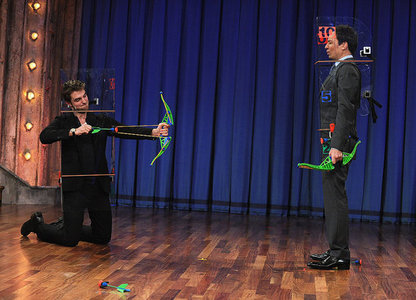 my babe playing a funny game with Jimmy Fallon<3