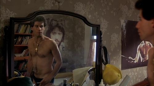 Sexy John looking in the mirror :)