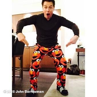 love his Elmo pjs<3
