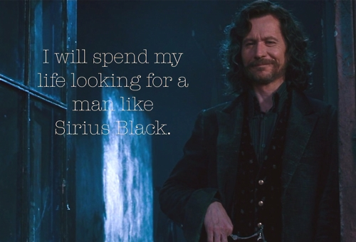 Man, I have a lot lol. I like Ron, Draco, and James Sirius. But I <3 Sirius omg.