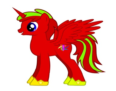 Name: Prince Crystal Aurora Gender: Male Cutie Mark: Crystal with রঙ spiraling out Hobbies: Studying and Hanging out with বন্ধু Personality: reserved & out going, a prodigy when it comes to Magic One special fact: Married to Cadence