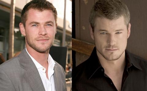 Eric Dane is a look alike of my Aussie babe,Chris Hemsworth<3