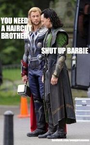 Thor and Loki...LOL<3