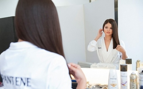 Here http://www.twistmagazine.com/posts/selena-gomez-shows-off-4-different-hairstyles-in-her-new-pantene-ads-67648/photos/selena-gomez-pantene-bts-99083 http://images.twistmagazine.com/uploads/photos/file/99083/selena-gomez-pantene-bts.jpg?crop=top&fit=clip&h=500&w=698 http://images.twistmagazine.com/uploads/photos/file/99082/selena-gomez-pantene-bts-1-splash.jpg?crop=top&fit=clip&h=500&w=698 http://images.twistmagazine.com/uploads/photos/file/99086/selena-gomez-pantene-shoot.jpg?crop=top&fit=clip&h=500&w=698
