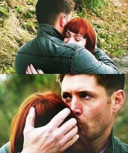 Jensen / Dean being nice to Felicia / Charlie