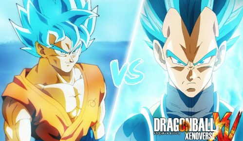 ssgb vegata and ssgb goku!!!!!!!! are epic in their new forms.