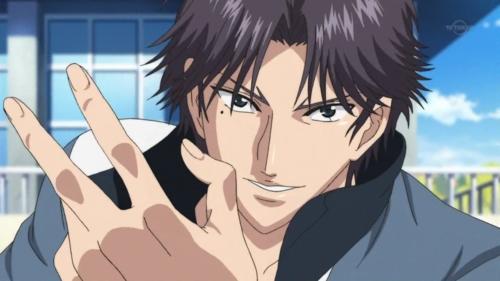 Keigo Atobe from Prince of tenis <3