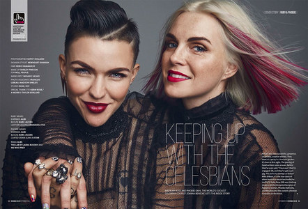 Ruby Rose and Phoebe Dahl.