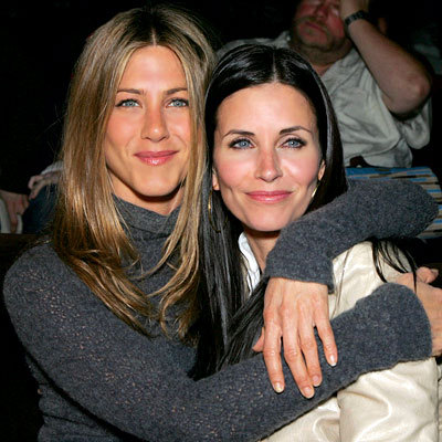 Jennifer and Courteney Cox :)