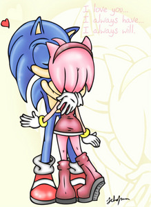 tailslover9 is right HES REALLY HOT!! Aslo I'm a fan of SonAmy XD BEST COUPLE EVER!!