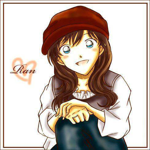 Ran Mouri in Detective Conan