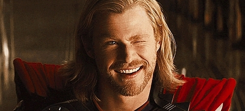 Avenger Thor winking ;)