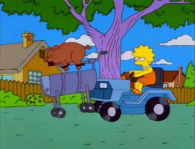 Lisa the vegetarian season 7 episode 5, yesterday.