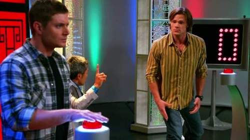 j2 on a Japanese game toon in an episode of Supernatural