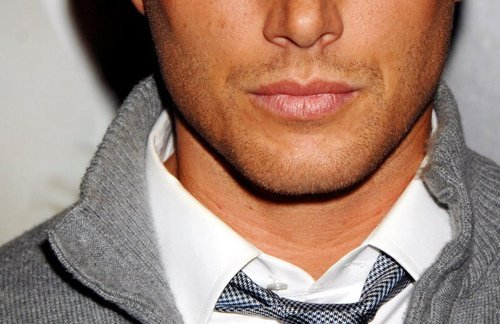 Jensen's juicy lips