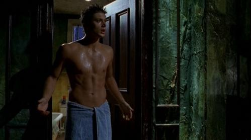 Jensen shirtless