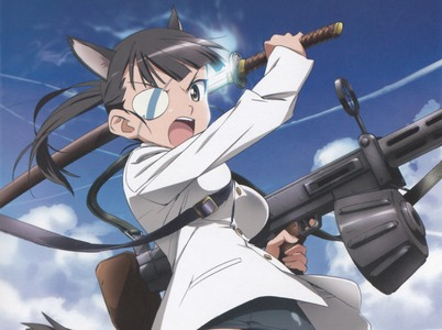 Mio Sakamoto from Strike Witches