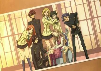 The Student Council from Code Geass