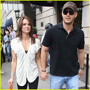 Jensen and Danneel (Harris) Ackles <3