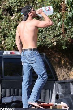 Scott in jeans<3