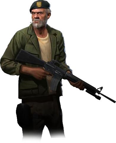 Bill from Left 4 Dead