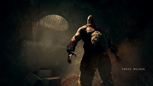 Chris Walker from Outlast He's ex-military police and having toured Afghanistan several times.