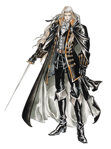 Alucard from Castlevania: Symphony of the Night